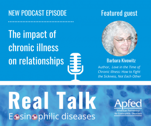 Podcast episode 002: The impact of chronic illness of relationships