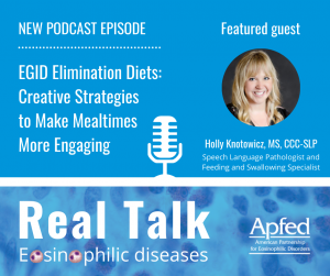 Real Talk: Eosinophilic diseases episode 004 featuring Holly Knotowicz