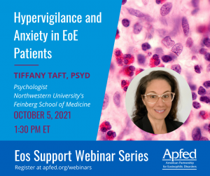 Hypervigilance and Anxiety in EoE Patients